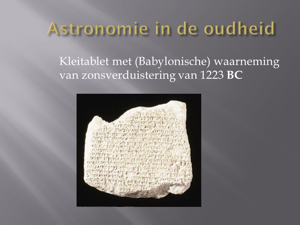 Astronomie in de oudheid