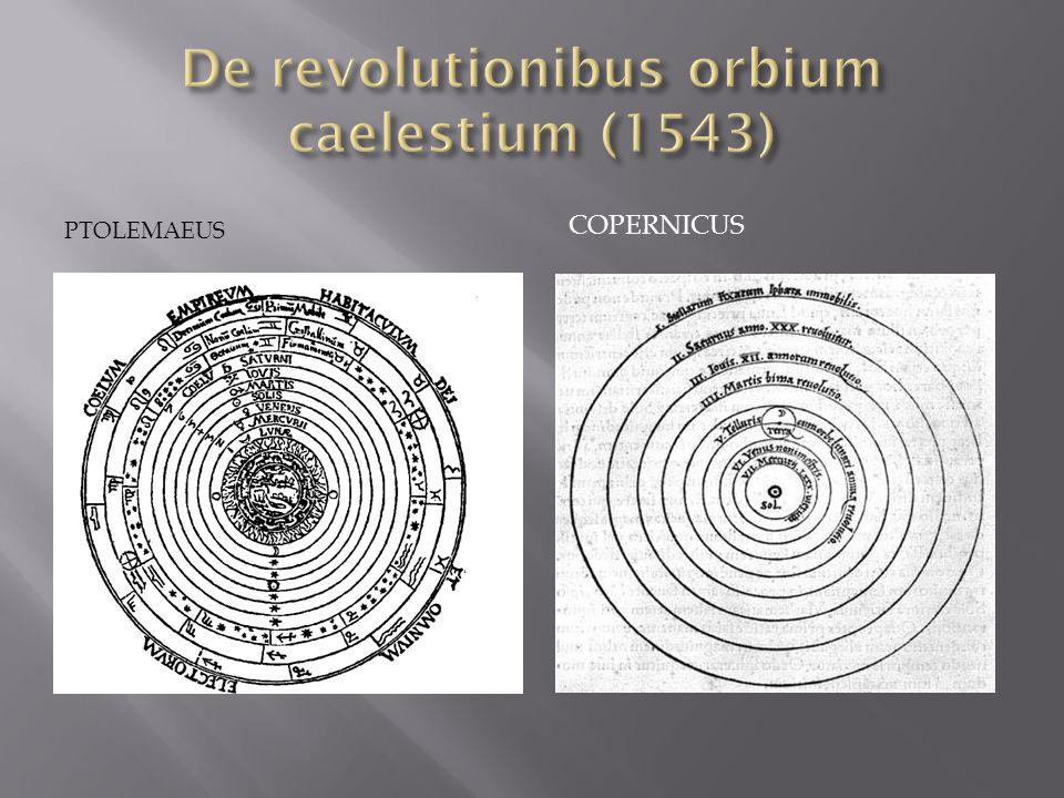 De revolutionibus orbium caelestium (1543)