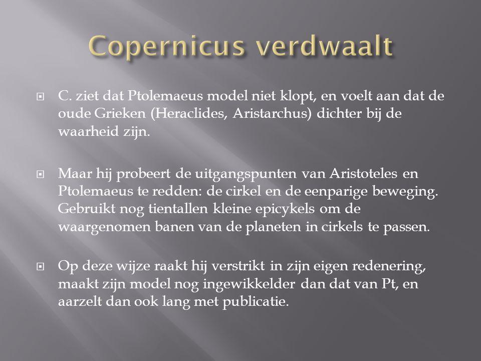Copernicus verdwaalt