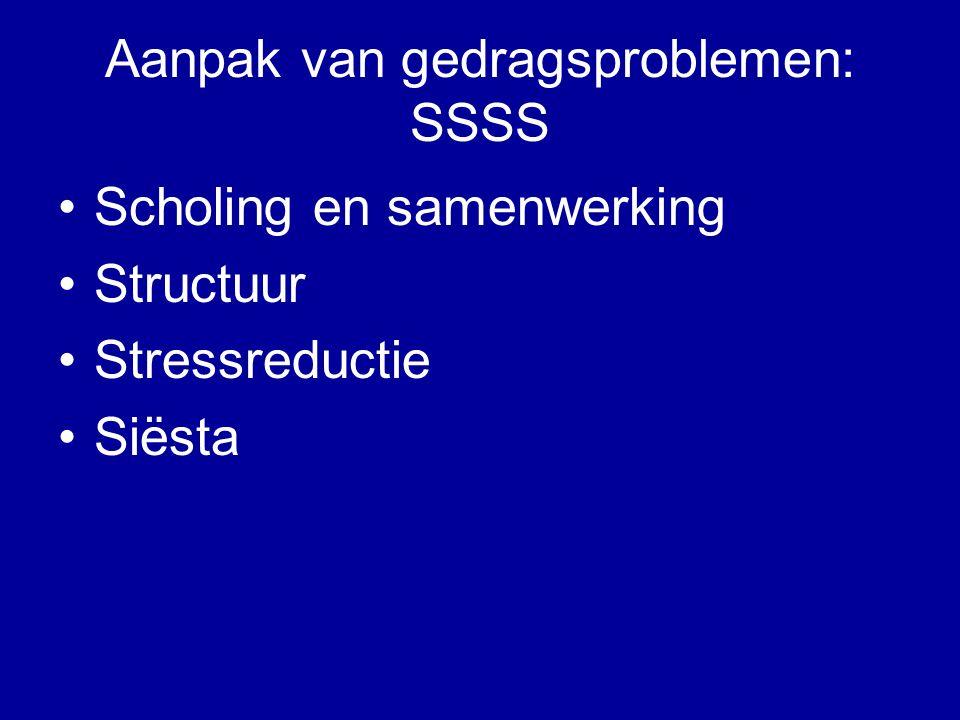Aanpak van gedragsproblemen: SSSS