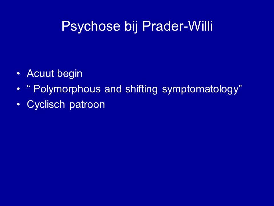 Psychose bij Prader-Willi