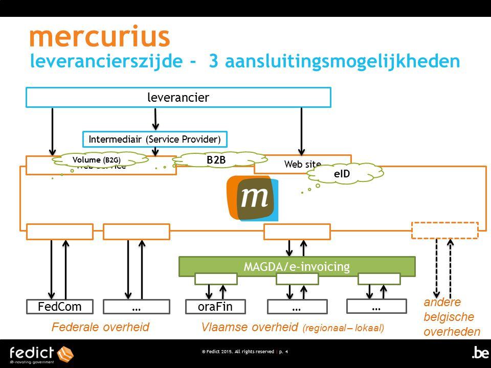 mercurius leverancierszijde - 3 aansluitingsmogelijkheden leverancier