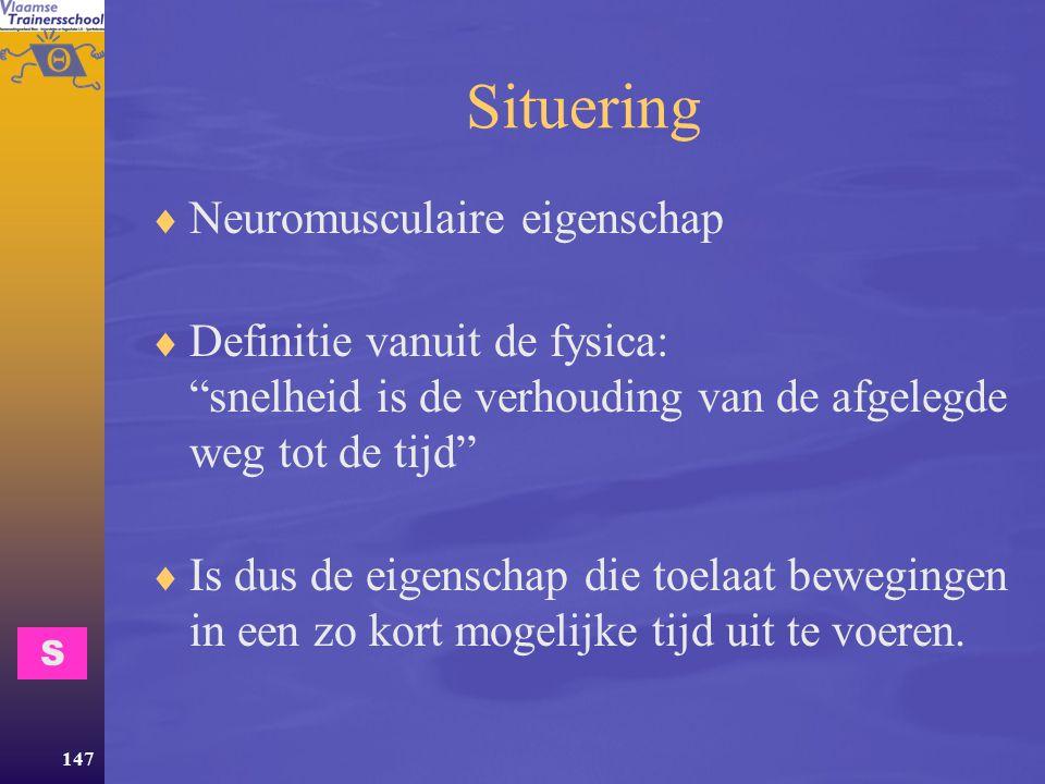 Situering Neuromusculaire eigenschap