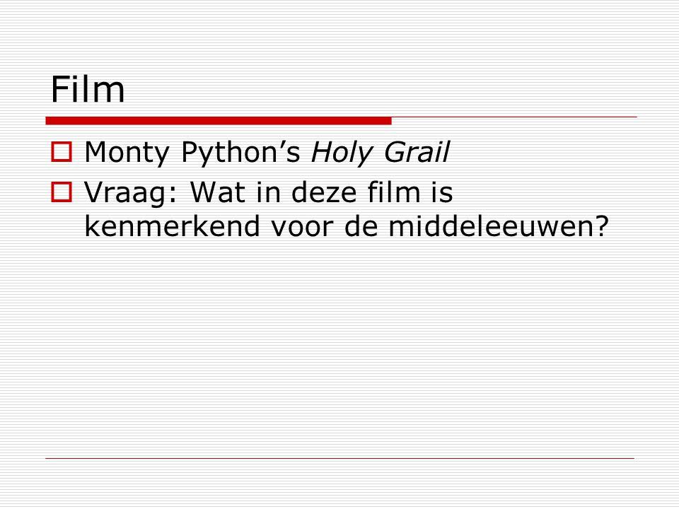 Film Monty Python's Holy Grail