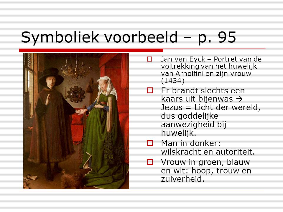 Symboliek voorbeeld – p. 95