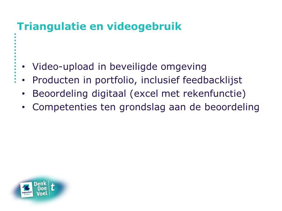 Triangulatie en videogebruik