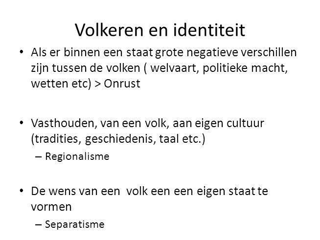 Volkeren en identiteit