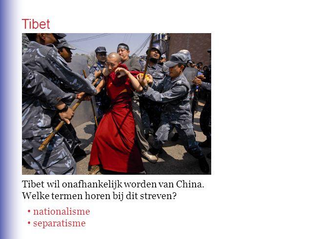 Tibet Tibet wil onafhankelijk worden van China.