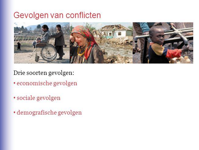 Gevolgen van conflicten