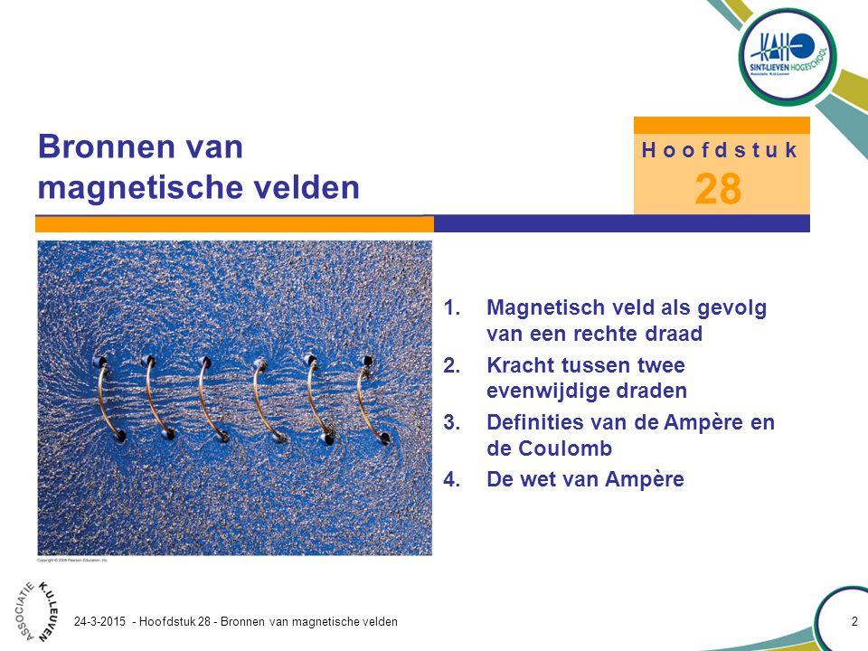 Bronnen van magnetische velden