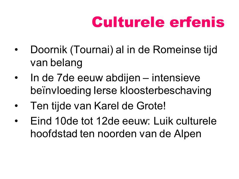 Culturele erfenis Doornik (Tournai) al in de Romeinse tijd van belang