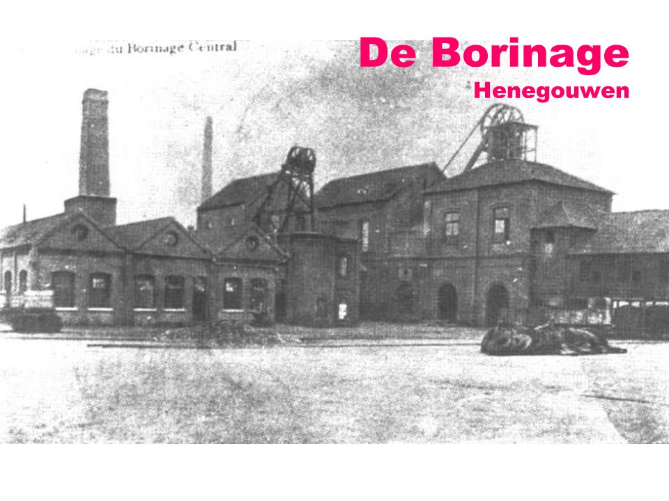 De Borinage Henegouwen