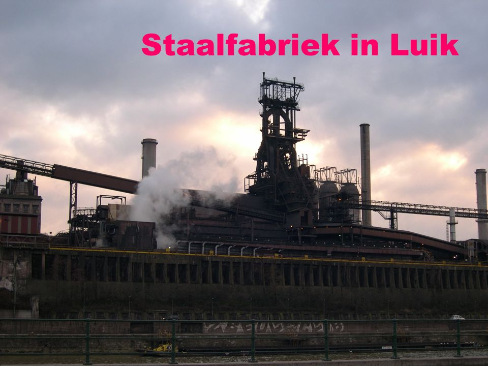 Staalfabriek in Luik