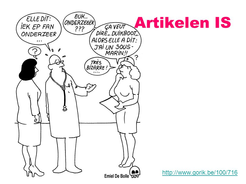 Artikelen IS http://www.gorik.be/100/716