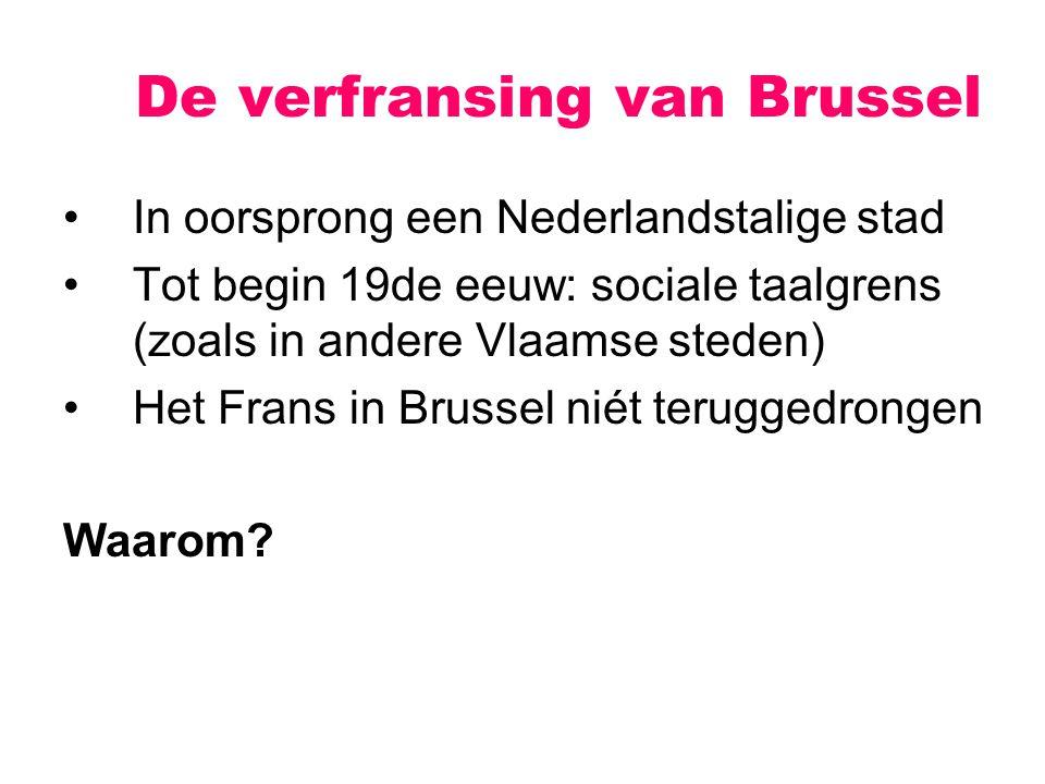De verfransing van Brussel