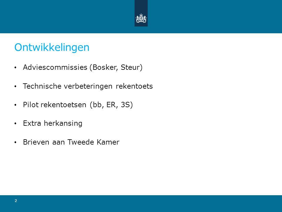Ontwikkelingen Adviescommissies (Bosker, Steur)
