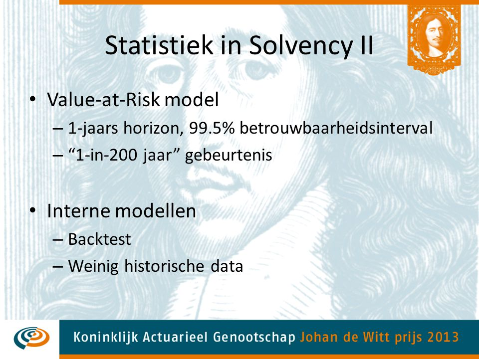 Statistiek in Solvency II