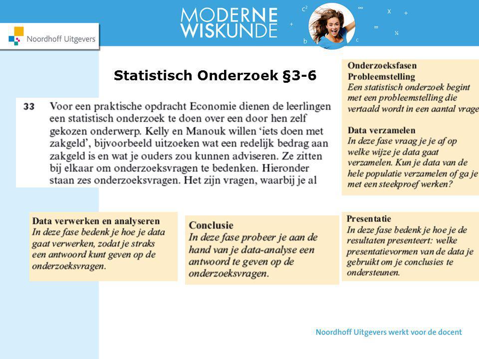 Statistisch Onderzoek §3-6
