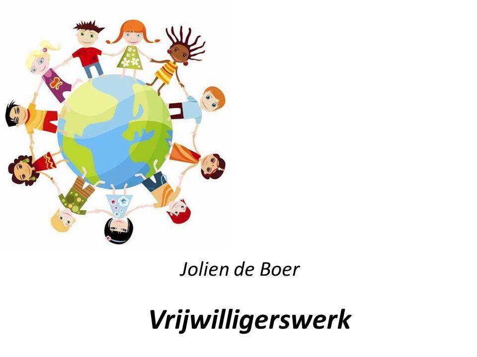 Jolien de Boer Vrijwilligerswerk