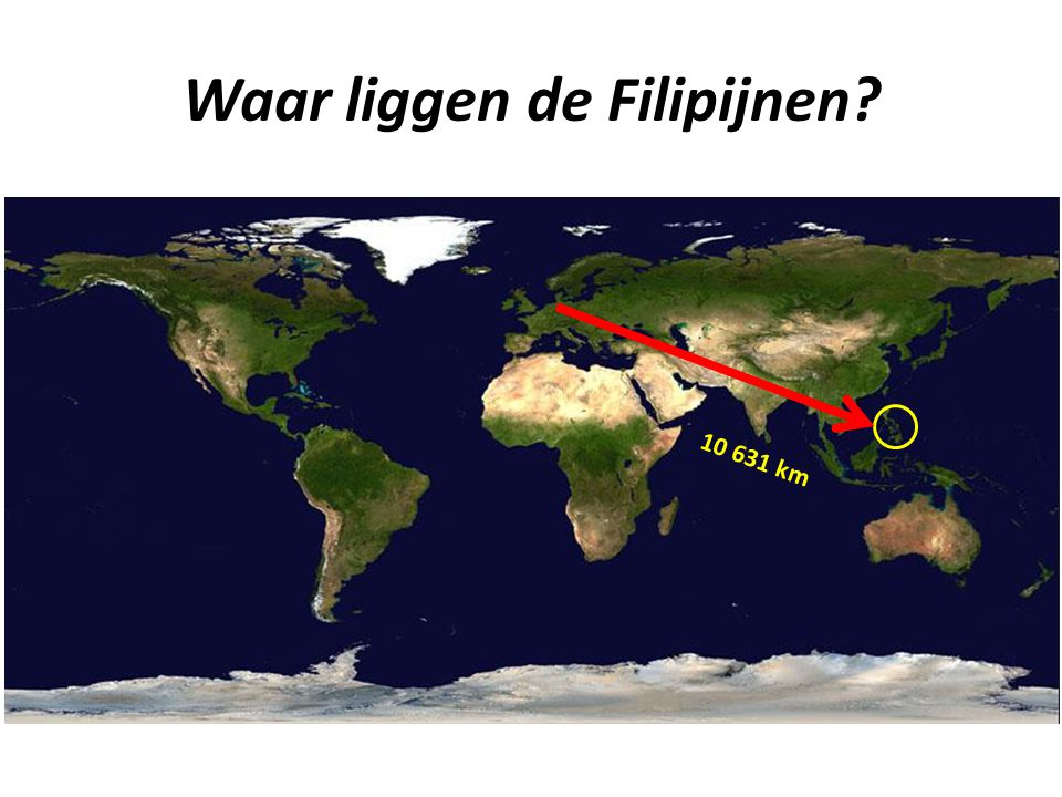 Waar liggen de Filipijnen