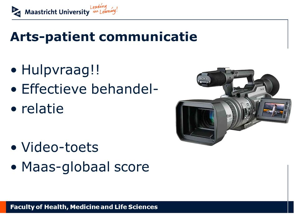 Arts-patient communicatie