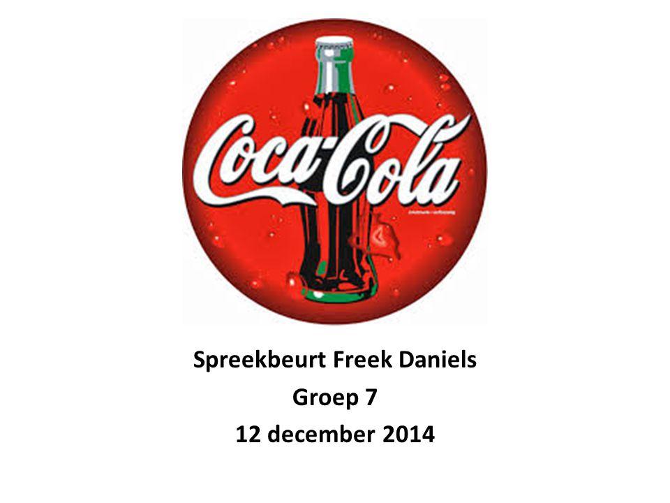 Spreekbeurt Freek Daniels Groep 7 12 december 2014