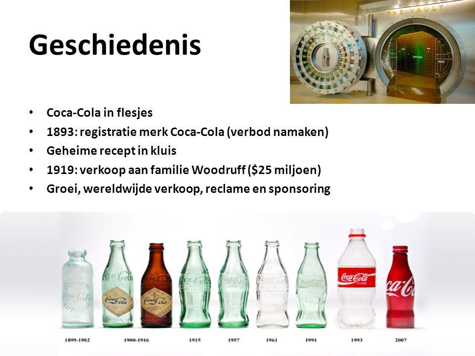 Geschiedenis Coca-Cola in flesjes