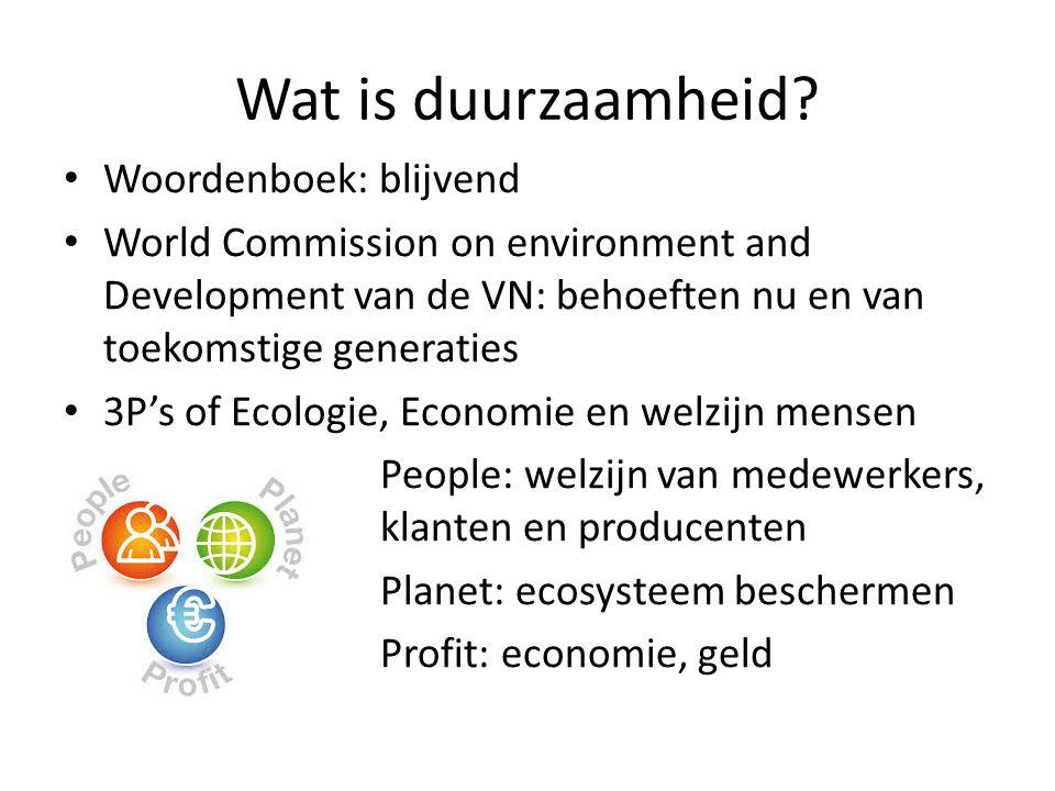 Wat is duurzaamheid Woordenboek: blijvend