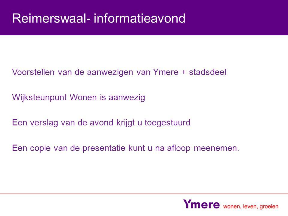 Reimerswaal- informatieavond