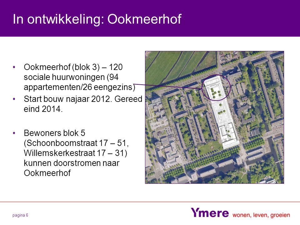 In ontwikkeling: Ookmeerhof