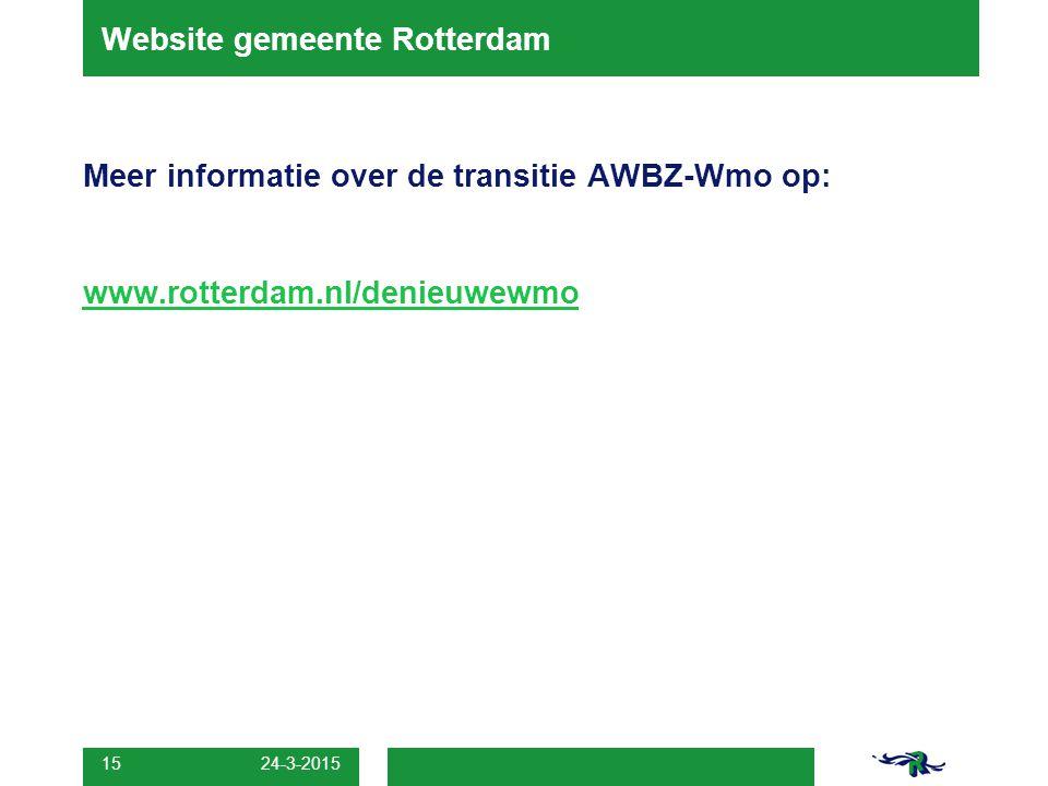 Website gemeente Rotterdam