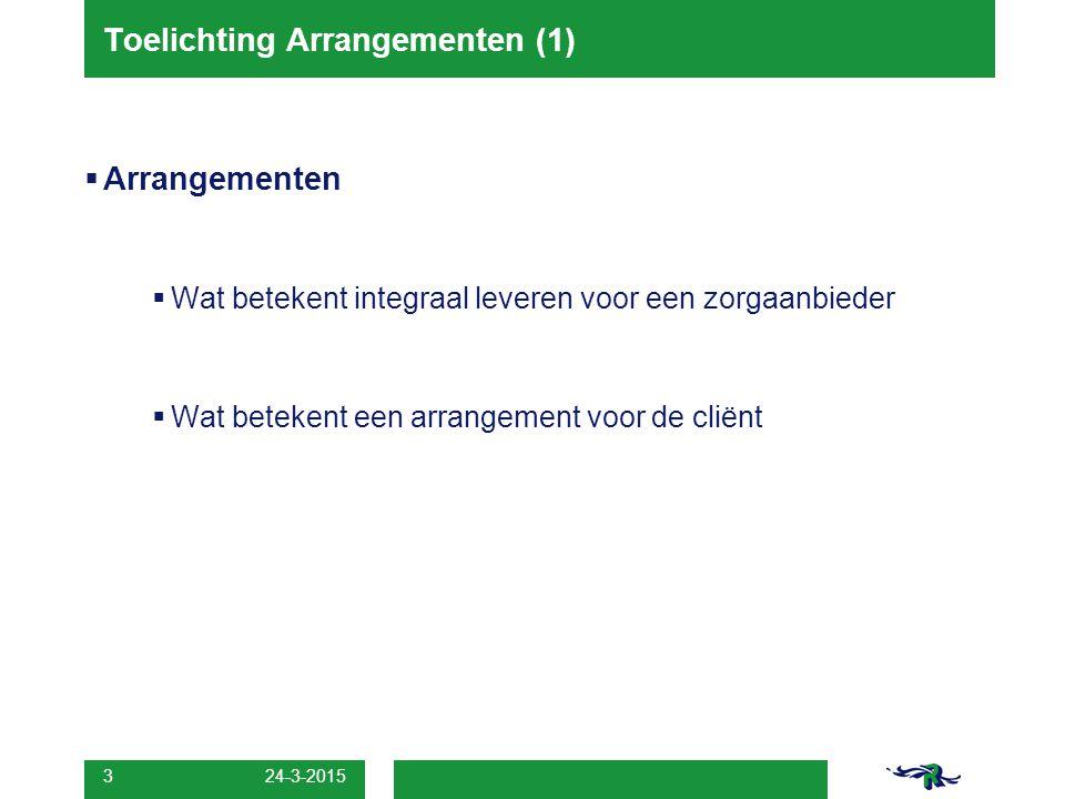 Toelichting Arrangementen (1)