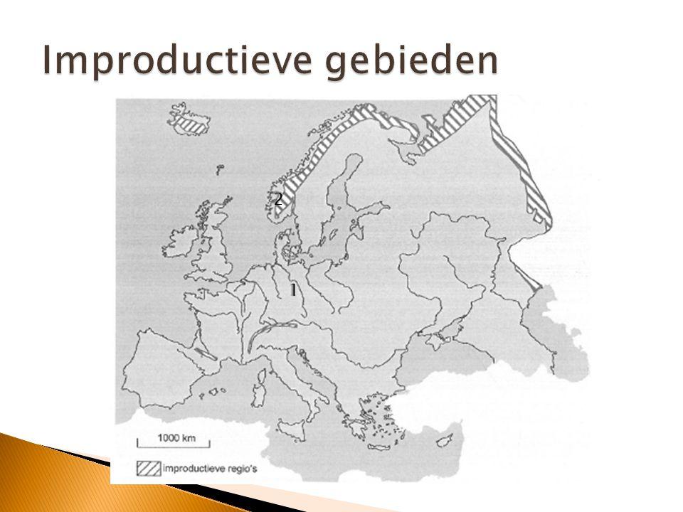 Improductieve gebieden