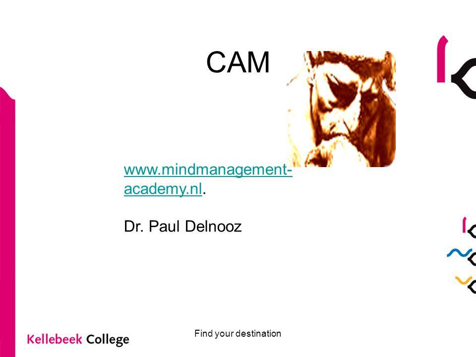 CAM www.mindmanagement-academy.nl. Dr. Paul Delnooz