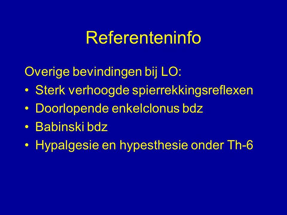 Referenteninfo Overige bevindingen bij LO: