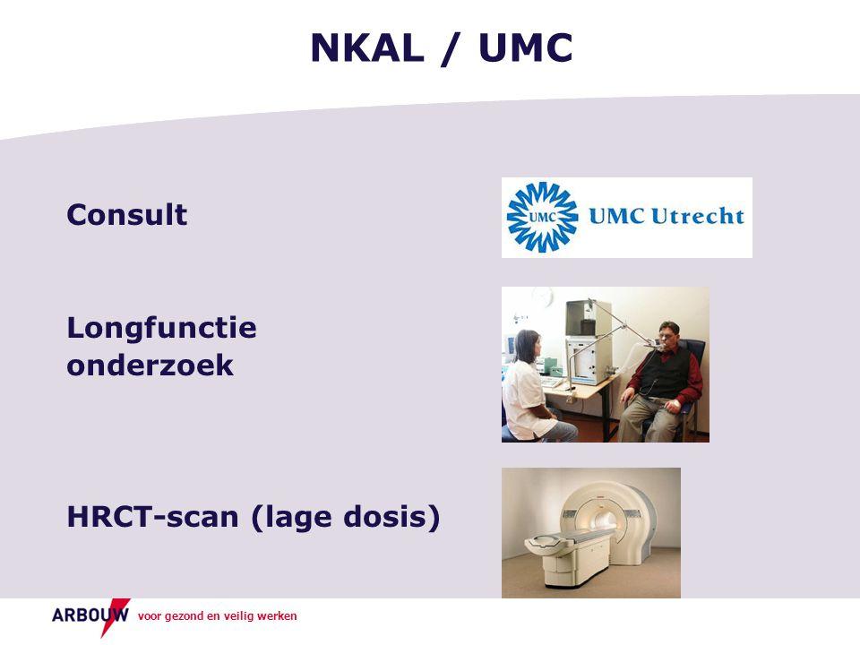 NKAL / UMC Consult Longfunctie onderzoek HRCT-scan (lage dosis)