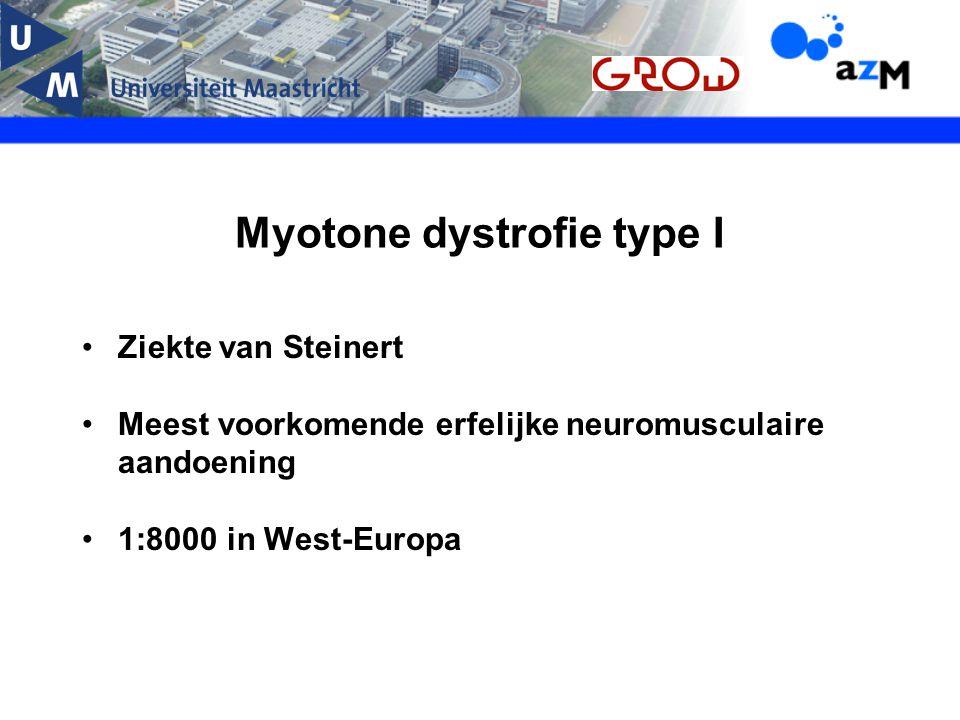 Myotone dystrofie type I
