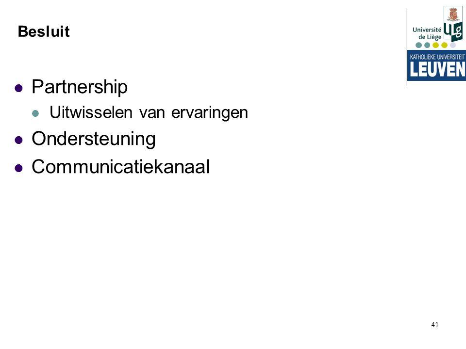 Partnership Ondersteuning Communicatiekanaal
