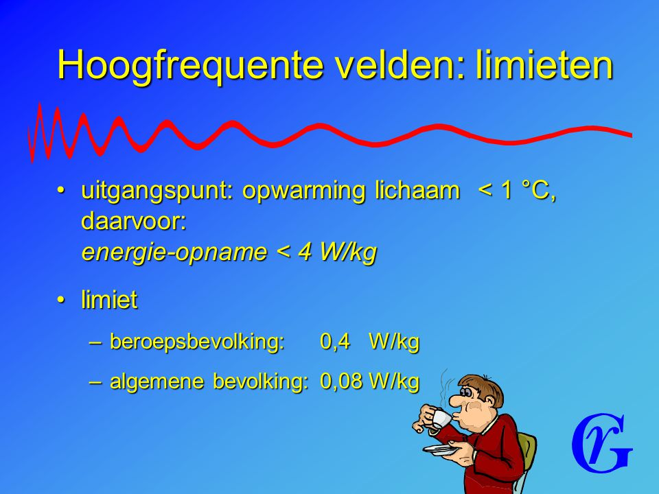 Hoogfrequente velden: limieten