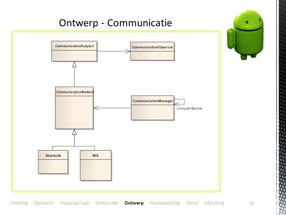 Ontwerp - Communicatie