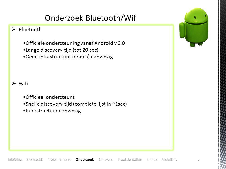 Onderzoek Bluetooth/Wifi