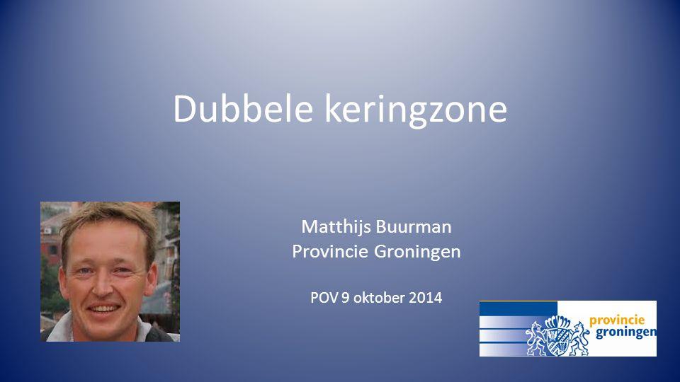 Matthijs Buurman Provincie Groningen POV 9 oktober 2014