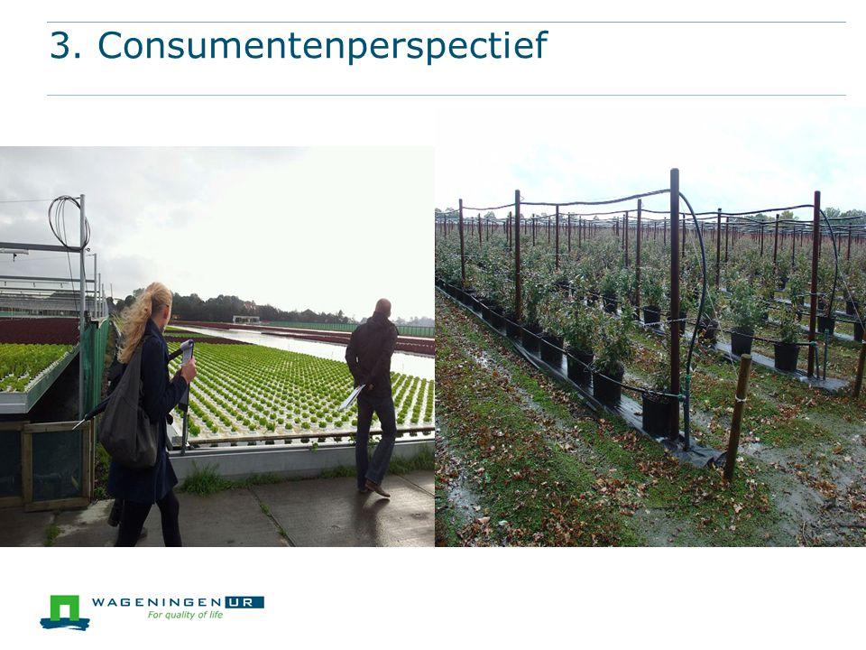 3. Consumentenperspectief