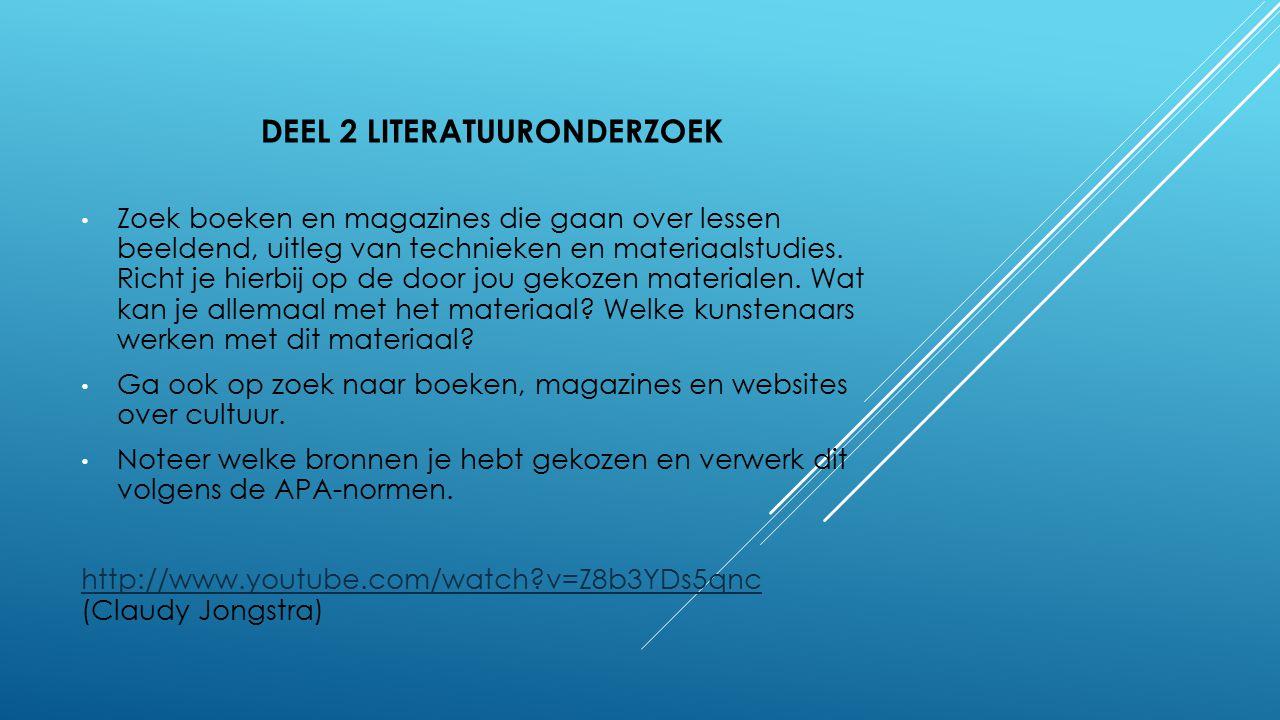 DeeL 2 Literatuuronderzoek