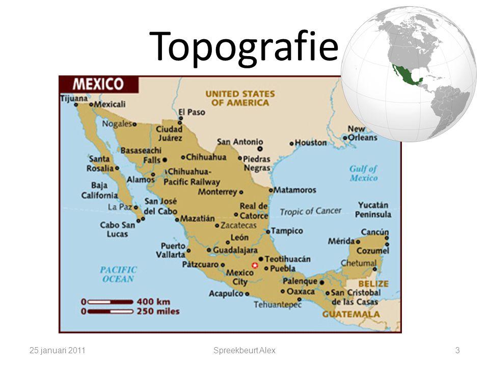 Topografie 25 januari 2011 Spreekbeurt Alex