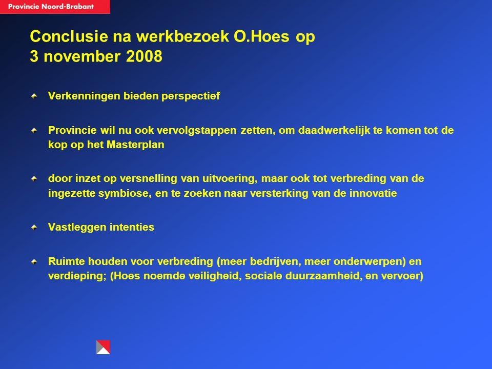 Conclusie na werkbezoek O.Hoes op 3 november 2008