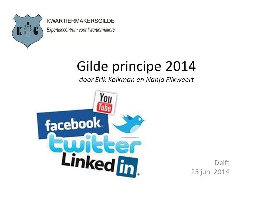 Gilde principe 2014 door Erik Kolkman en Nanja Flikweert