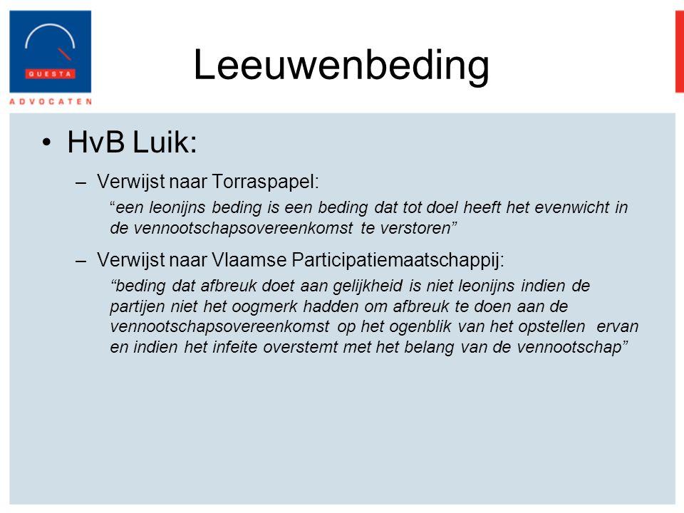 Leeuwenbeding HvB Luik: Verwijst naar Torraspapel: