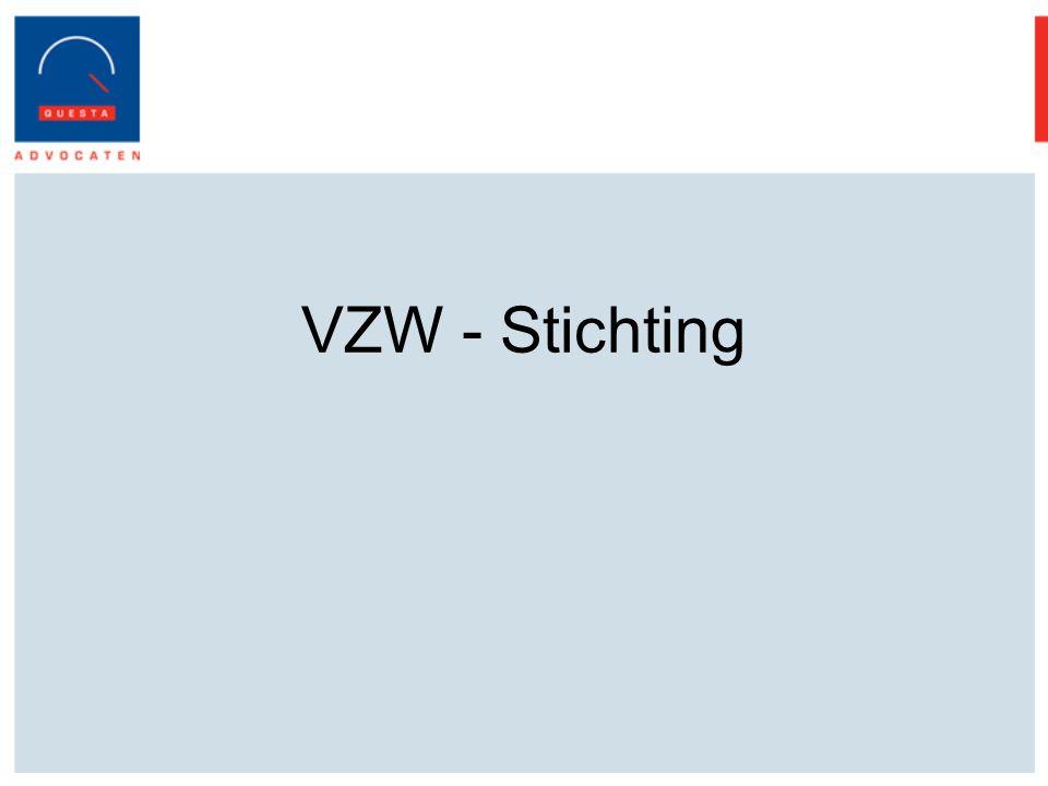 VZW - Stichting