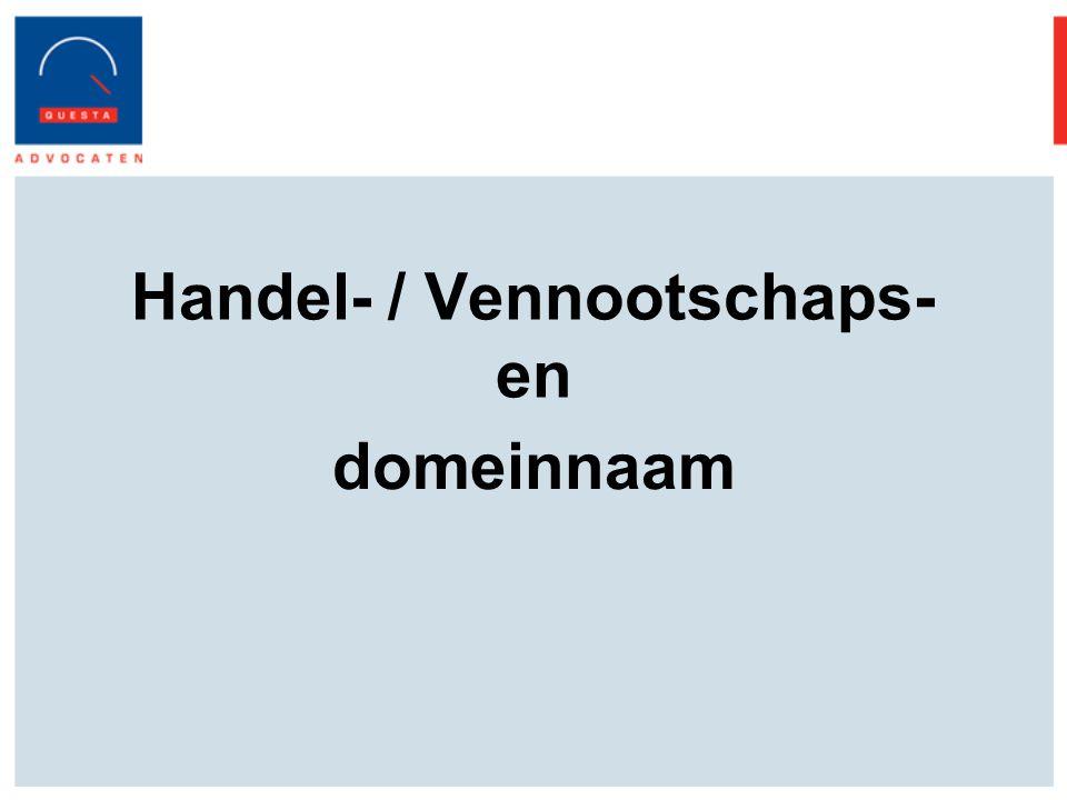 Handel- / Vennootschaps- en